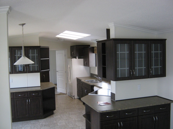 Awesome kitchen in one of our 14' wide homes!
