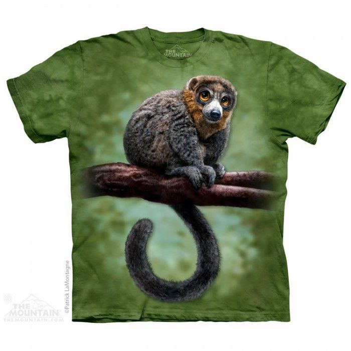 Tricou The Mountain - Cadou traznit Lemur Totem