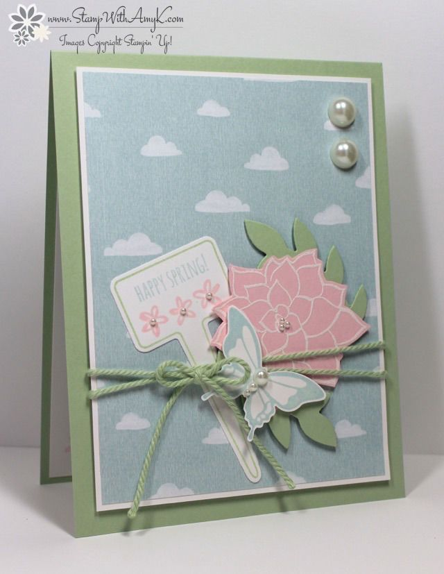 Nature's Perfection - Stampin' Up! - Stamp With Amy K