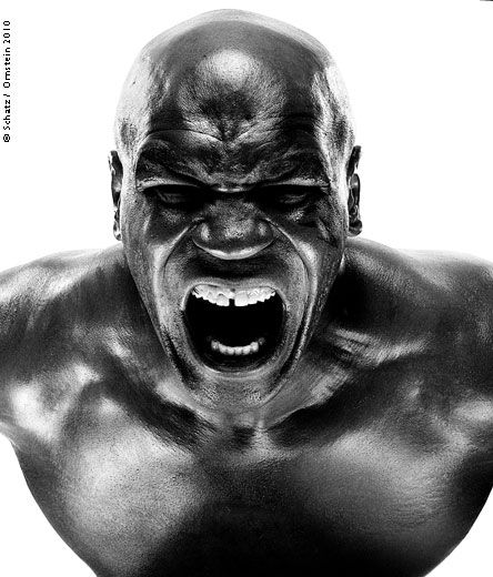 Mike Tyson by Howard Schatz - The Admiration is for the Photograph, Rather than the Subject...