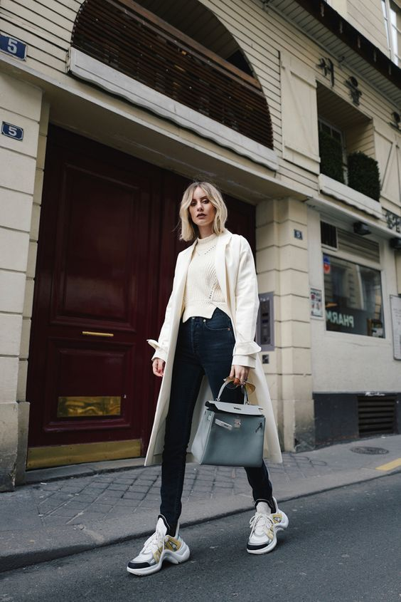 948f72433 2018 Trend Style: What to Wear With Chunky Sneakers | fashion by ...