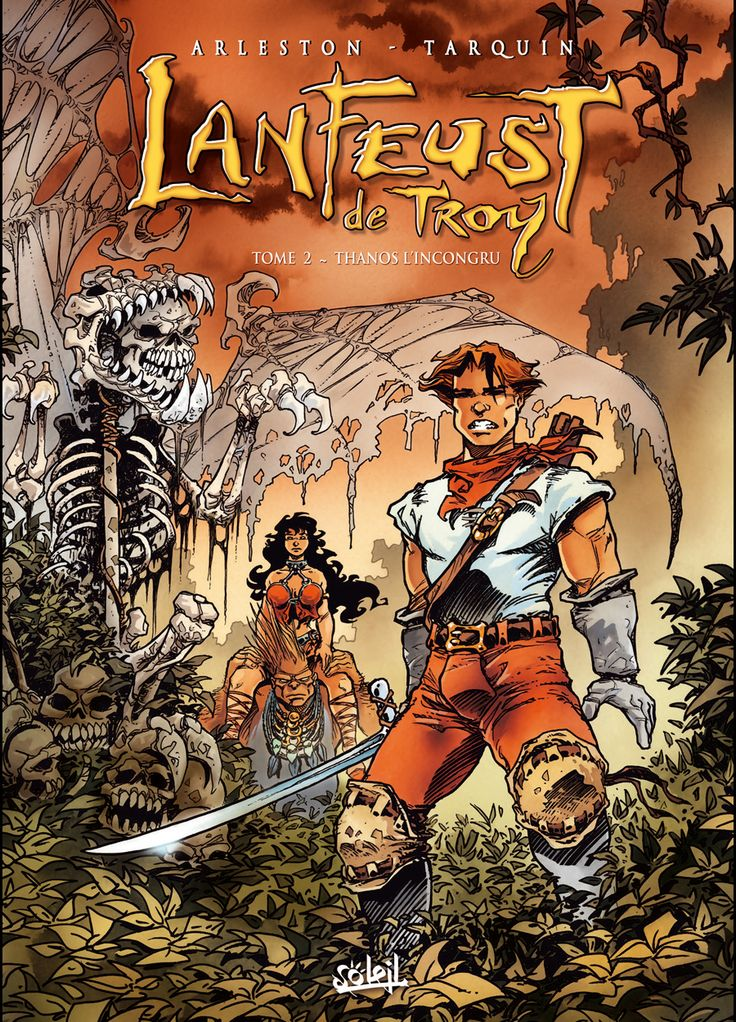 ARLESTON - Lanfeust de Troy 2 Thanos l'incongru