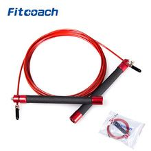 UIC-JR06 Professional Athletics Speed Jump Rope With Ball Bearing Metal Handle For Woman, Crossfit Fitness Equipment //Price: $US $8.42 & FREE Shipping //