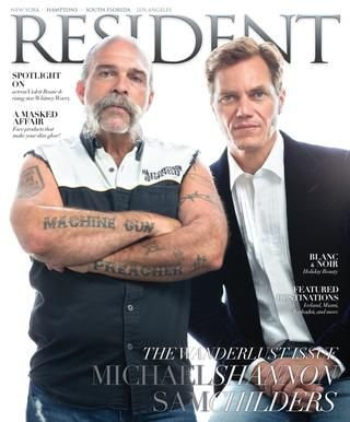 Resident Magazine November 2016 Issue with Michael Shannon & Sam Childers