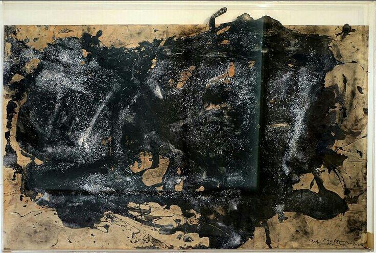 Emilio Vedova - Senza titolo (prova impossibile), 1985