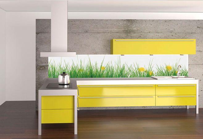 Дизайн кухонь в желтой гамме