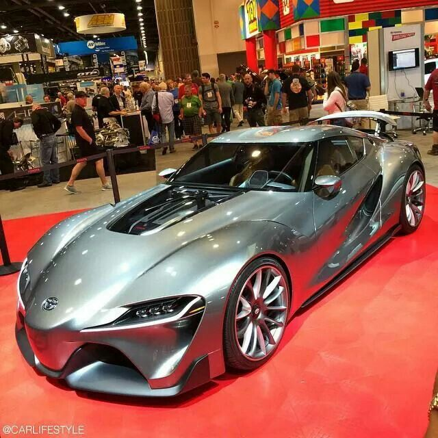 Nice Toyota FT 1 Good Looking Car For Sure.