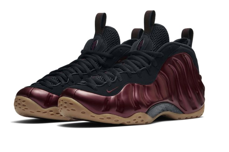 Nike Air Foamposite One-Maroon-3