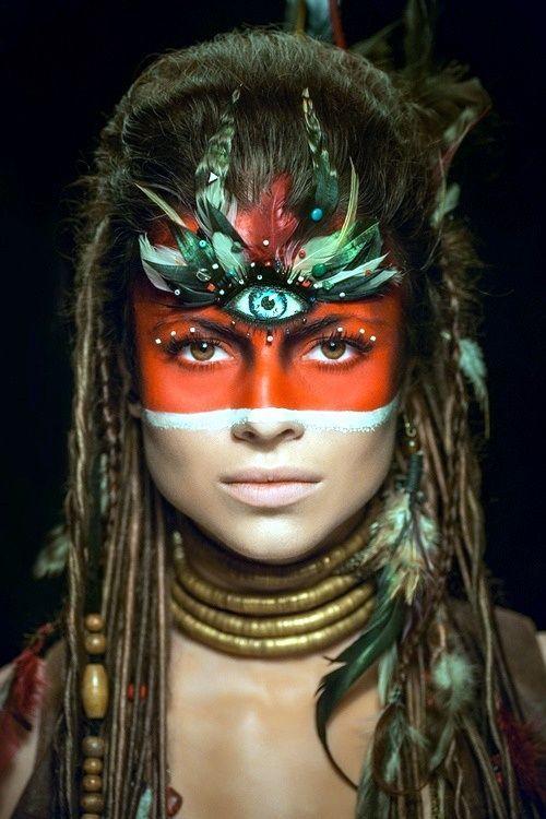 Voodoo Priestess Costume on Pinterest | Voodoo Costume, Witch ...                                                                                                                                                                                 More