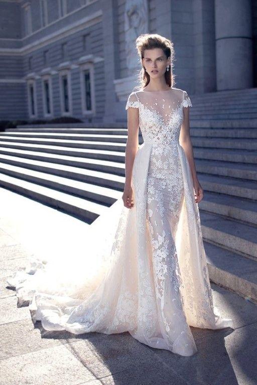 Царственная коллекция свадебных платьев от израильского бренда Berta Bridal    #wedding #bride #flowers