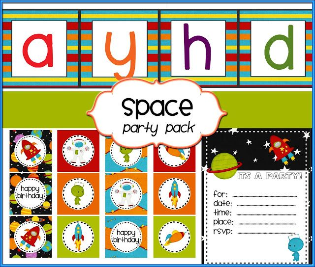 20 ideas for a Fabulous Outer Space Party - Artsy Craftsy Mom