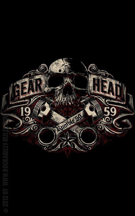 Gear Head -  That's life: Motor, Getriebe, Kolben, Drehzahl /// Design: Jan Meininghaus                                                                                                                                                                                 Mehr