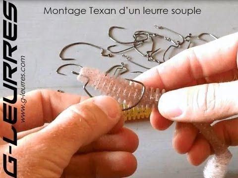 Hamecon texan pour leurre souple : pêchez les zones encombrées à fond!