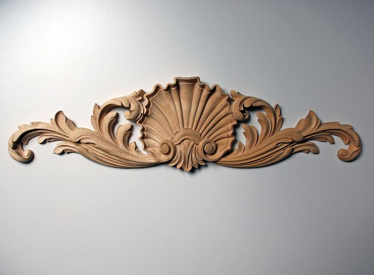Large Shell And Acanthus Pediment Appliqu 233 Products