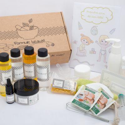 Image produit - Box série spéciale Formule beauté - Prendre soin de son bébé