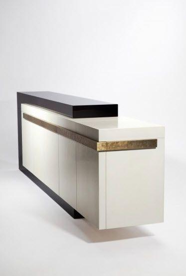 contemporary lacquered sideboard Hervé van der straeten