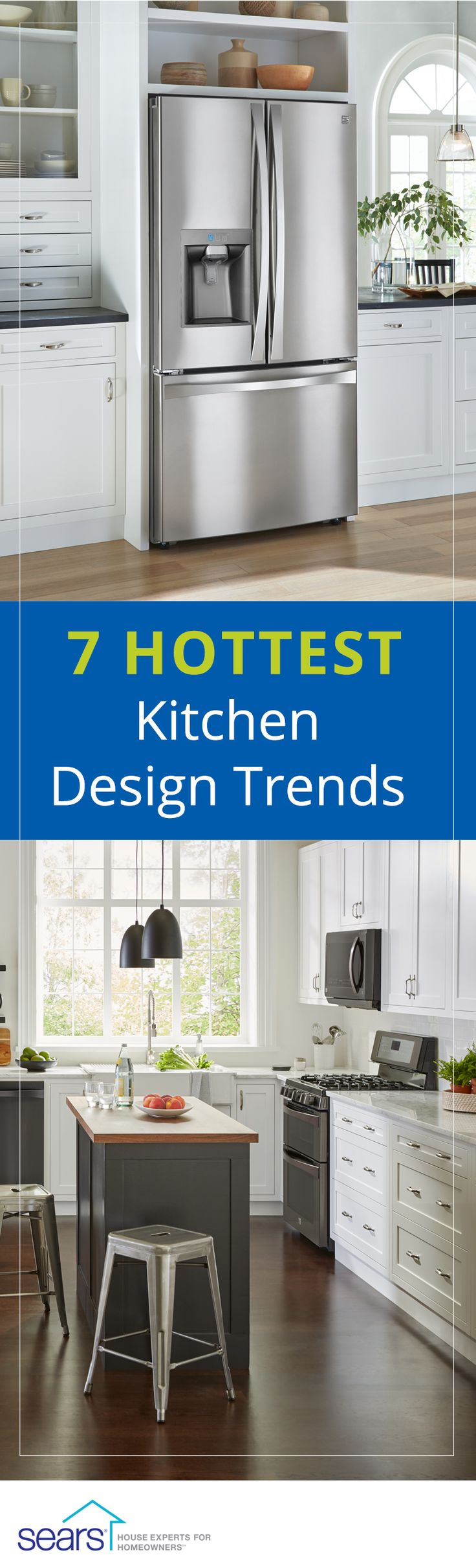 223 best images about the kitchen on pinterest wall for Kitchen design trends