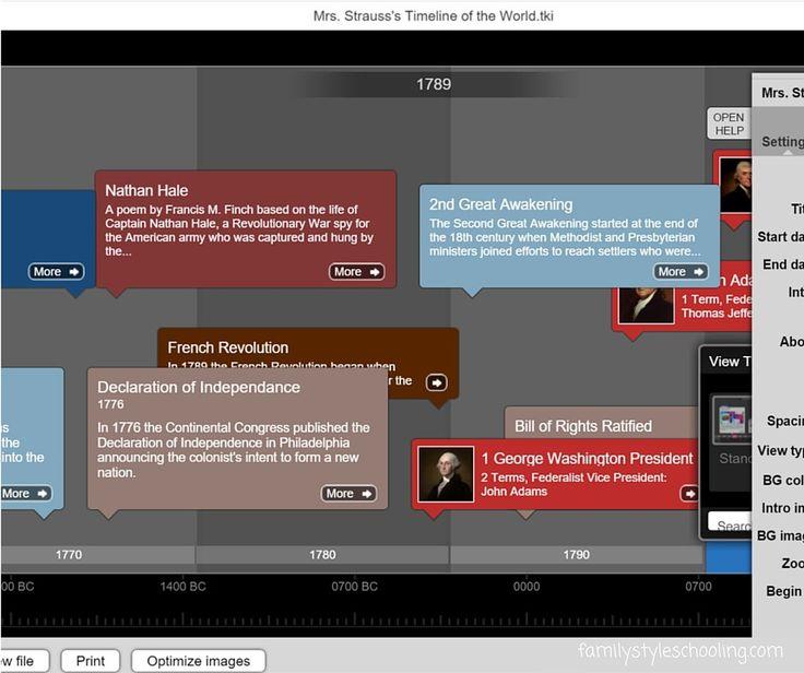 Digital Timelines