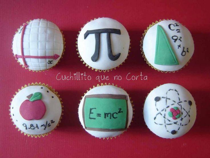 cupcakes that teach! #math #nerd #science #mattamatica