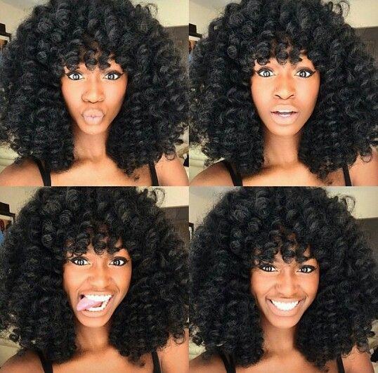 Braids ¤ Twist (Natural hair & Protective Style) crochet braids