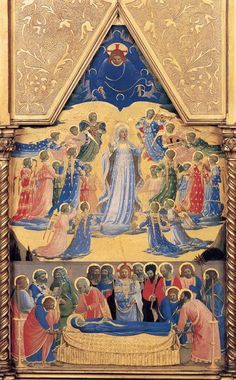 Assumption of Mary quotes and images fra-angelico-assumption