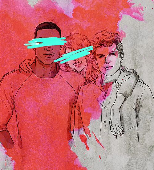 This hurts. Teen wolf. Erica, Boyd, and Isaac