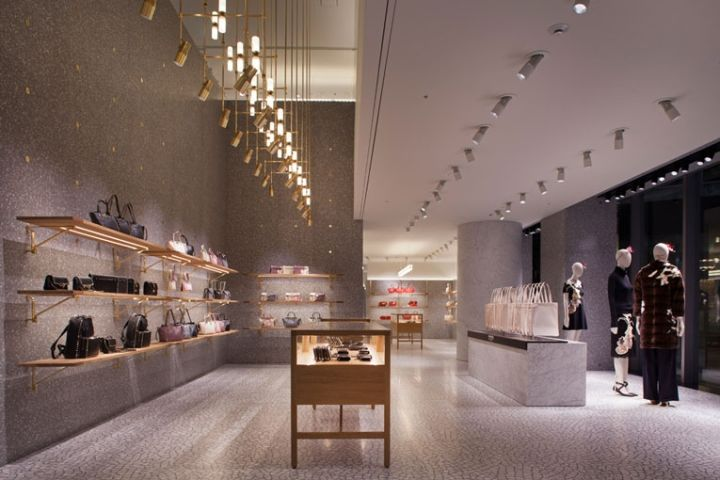 Valentino flagship store by David Chipperfield Architects Tokyo  Japan