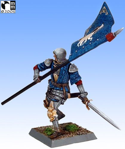 Mindstalkers: soldiers generic for factions of Milan and Venice.  Standard Bearer 04