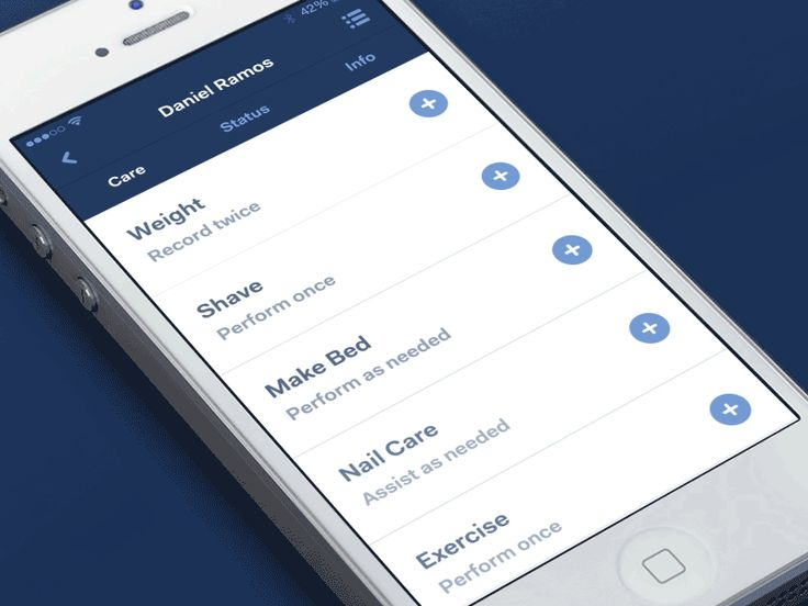 Dribbble - Care Complete - Undo by Rappora