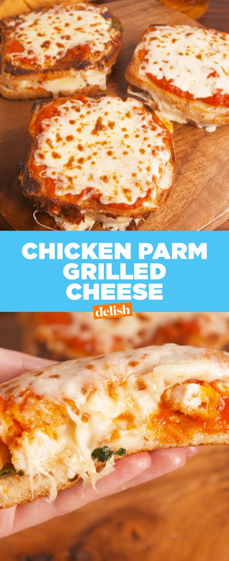 This Grilled Cheese Takes Chicken Parm To A Whole New Level