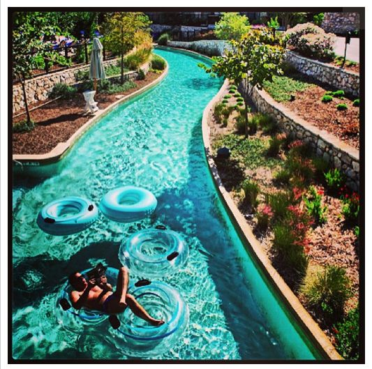 Perfect Day To Relax And Enjoy The Lazy River At Jw