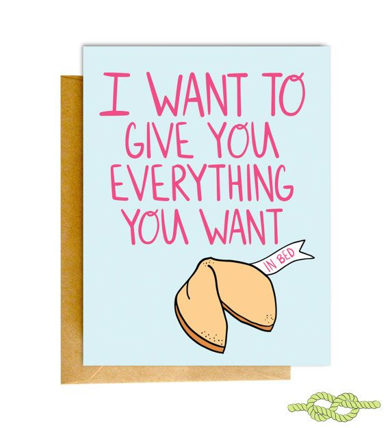 106 best love cards images on pinterest card stock carton box and funny naughty card birthday card girlfriend card by knottycards bookmarktalkfo Images