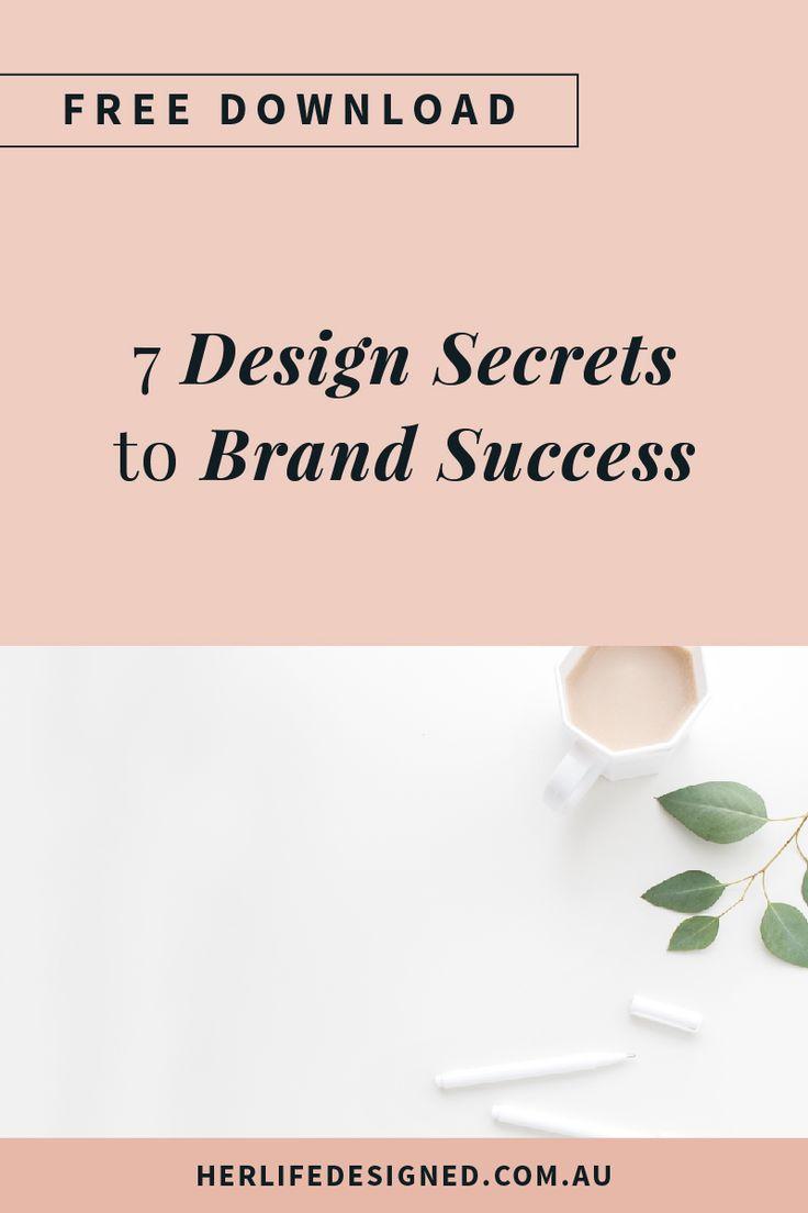 7 Design Secrets to Brand Success