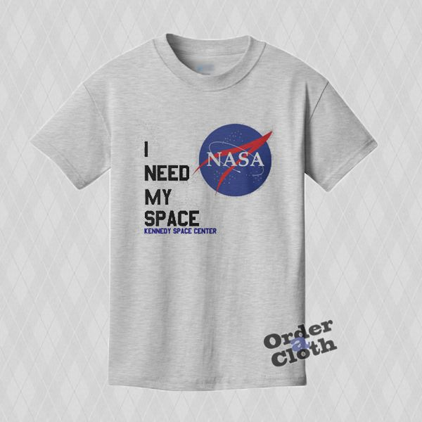 Nasa I need my space T-shirt