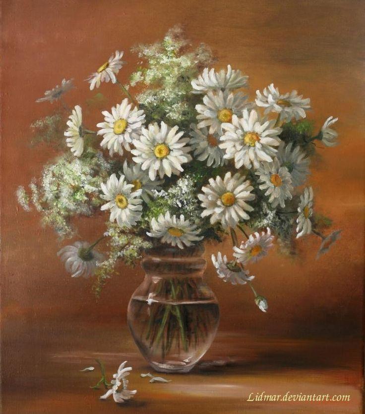 Daisys by Lidia Olbrycht