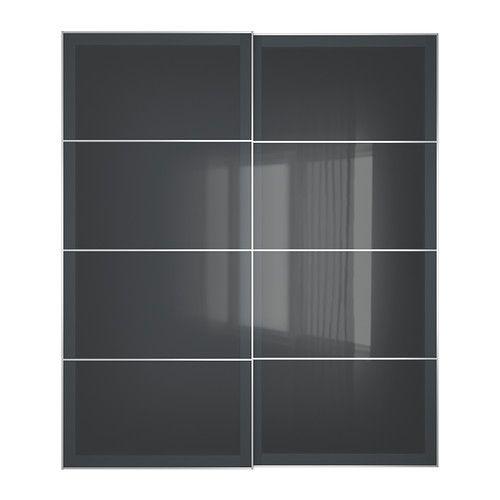 UGGDAL Portes coulissantes, 2 pièces IKEA Garantie 10 ans gratuite. Renseignements complets dans notre livret de garantie. 350,00$