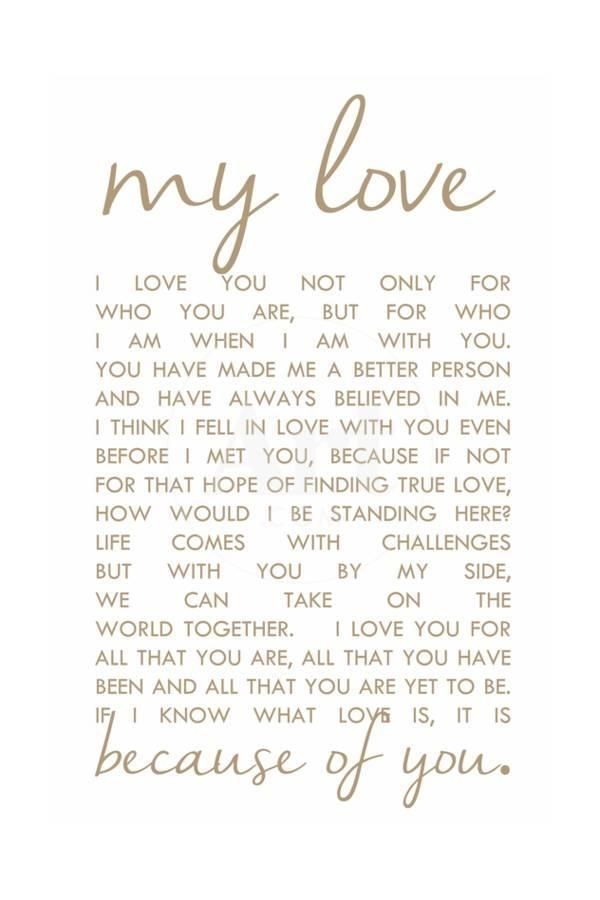 Sweet Romantic Love Letter For Her from i.pinimg.com