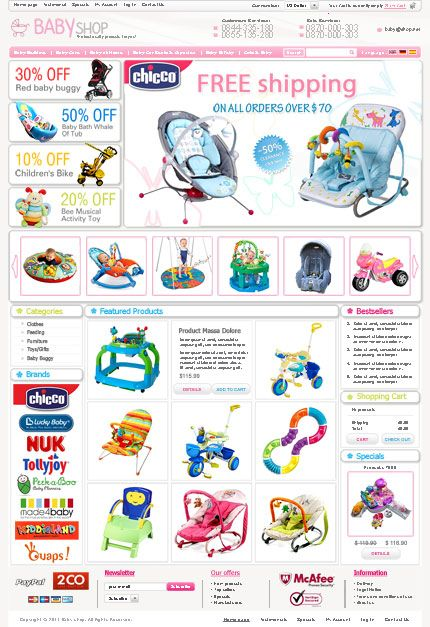 Trustable Baby Shopping Online