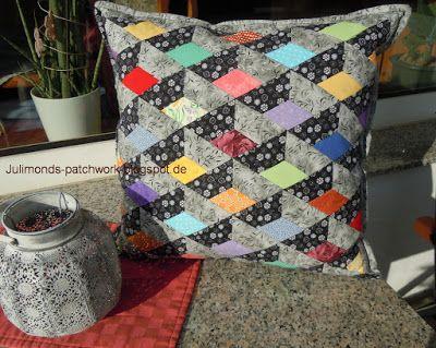 die besten 17 ideen zu patchwork kissen auf pinterest patchwork kissen patchwork und. Black Bedroom Furniture Sets. Home Design Ideas