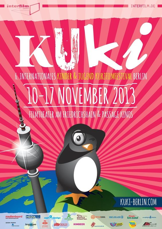 Details and specially selected highlights for the Kuki Internatinal kids short film festival in November in #Berlin