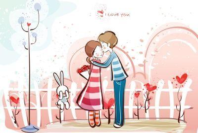 Kissing Couple Wallpaper