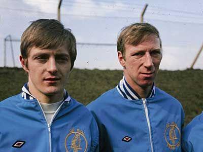 Allan Clarke and Jack Charlton