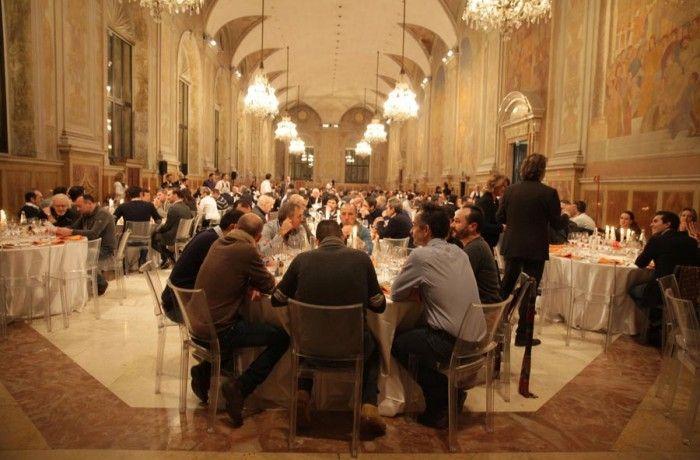 La cena nel Salone del Podestà