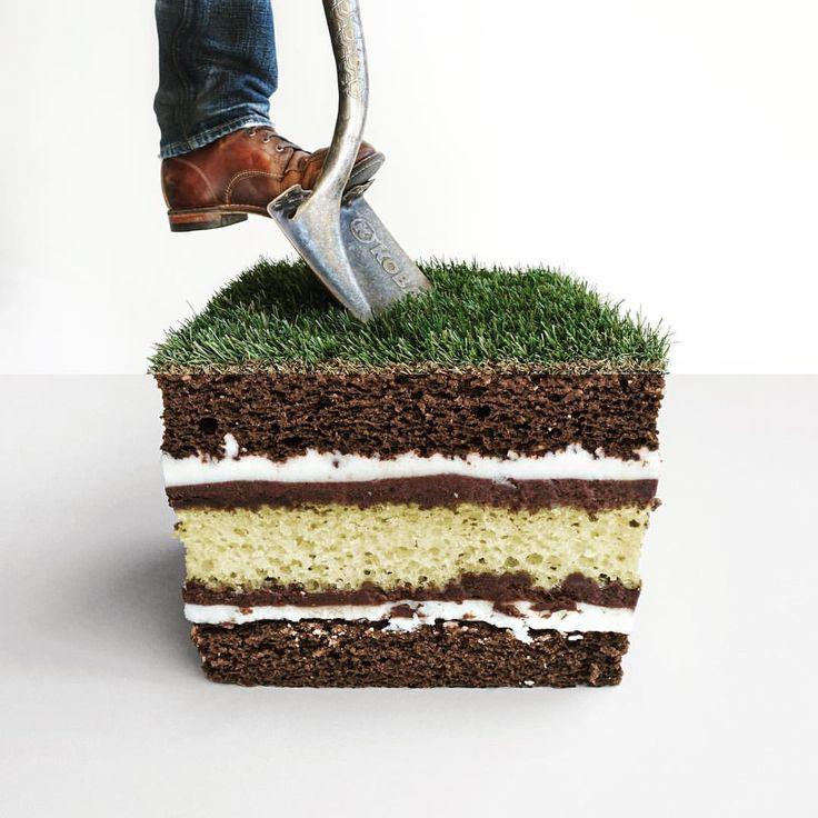 turf + cake  just taking samples of earth's delicious core. thanks to @morganlandd for snagging me this piece of turf. and thanks to whoever made this slice of cake over at @thefreshmarket. I took the cake shot back in January (so #tbt I guess?). apparently it can take a while for these things to come together. #combophoto #⛳️