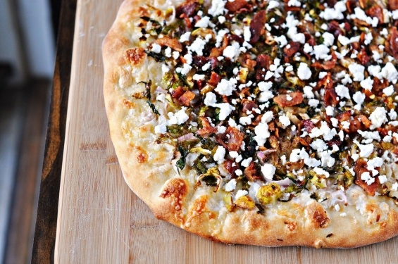 Brussels Sprouts and Bacon Pizza: Food Recipes, Bacon Pizza Interesting, Pizza Pies, Food Pizza, Pizza Food, Sprouts Bacon, Healthy Food, Brussels Sprouts Brussels, Pizza Brussels Sprouts