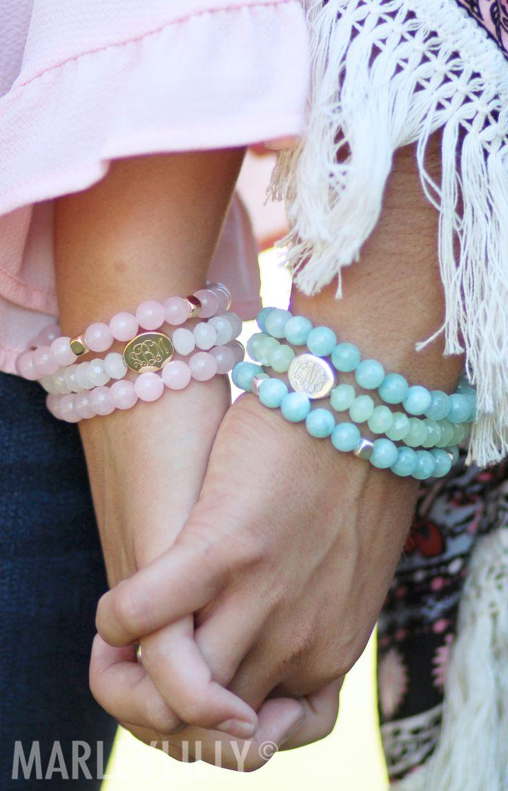 best 25  monogram bracelet ideas on pinterest