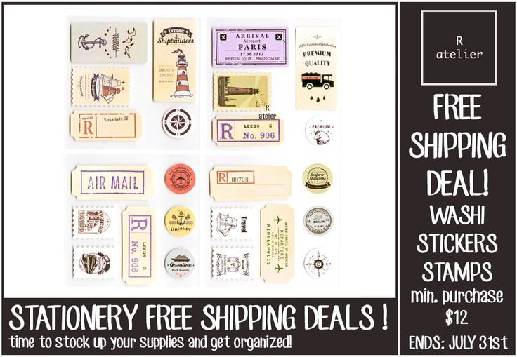 R.atelier Journaling Stationery Deals! Free Shipping! Only for Stationery Items **Minimum Purchase - $12.00**