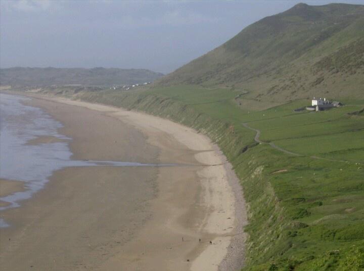 Rhosilli beach, Gower Coast