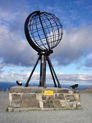 Noordkaap in Noorwegen