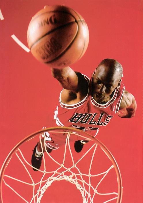 Michael Jordan es un famoso jugador de baloncesto. #baloncesto #losdeportes